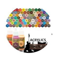 Acrylics Warpaints
