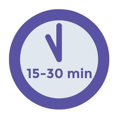 15 tot 30 minuten
