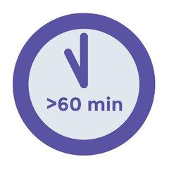 > 60 minuten
