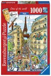 Fleroux: Paris, Cities of the World - Puzzel (1000)