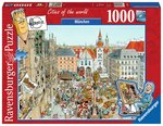 Fleroux: München, Cities of the World - Puzzel (1000)