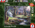 Snow White Discovers the Cottage - Puzzel (1000)