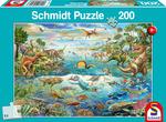 Ontdek de dino's - Puzzel (200)