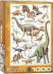 Dinosaurs of the Jurassic Period - Puzzel (1000)