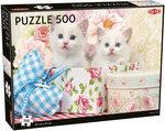 White Kittens - Puzzel (500)