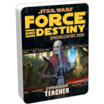 Star Wars: Force and Destiny - Teacher (Specialization Deck)