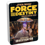 Star Wars: Force and Destiny - Investigator (Specialization Deck)