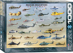 Military Helicopters - Puzzel (1000)