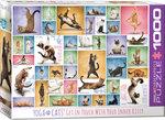 Yoga Cats - Puzzel (1000)
