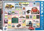 The VW Beetle - Puzzel (1000)