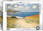 Path Through the Wheat Fields, Claude Monet - Puzzel (1000)