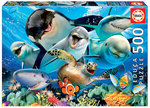 Underwater Selfies - Puzzel (500)