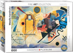 Yellow-Red-Blue, Wassily Kandinsky - Puzzel (1000)