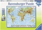 Politieke wereldkaart - Puzzel (300XXL)