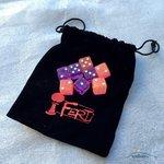 Tumblin Dice: 8 Extra Dobbelstenen (Roze & Violet)