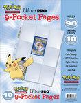 Ultra Pro 9-Pocket Pages (Pokémon) - 10 stuks