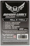 Mayday Card Sleeves: Magnum Ultra Fit (70x110mm) - 100 stuks
