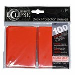 Ultra Pro Eclipse PRO-Matte Sleeves: Standaard Apple Red (66x91mm) - 100 stuks