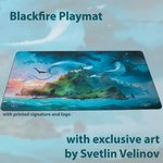 Blackfire Ultrafine Playmat - Svetlin Velinov Edition (Island)