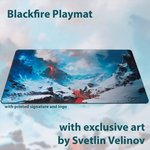Blackfire Ultrafine Playmat - Svetlin Velinov Edition