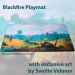 Blackfire Ultrafine Playmat - Svetlin Velinov Edition (Plains)
