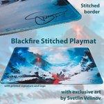 Blackfire Ultrafine Stitched Playmat - Svetlin Velinov Edition (Mountain)