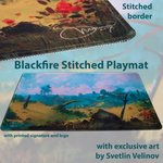 Blackfire Ultrafine Stitched Playmat - Svetlin Velinov Edition (Plains)