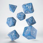 Elvish RPG Dice Set Glacier & White (7 stuks)