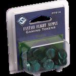 Gaming Tokens - Green (Fantasy Flight Supply)