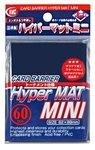 KMC Mini Sleeves (Hyper Mat): Blue (62x89mm) - 60 stuks