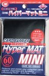 KMC Mini Sleeves (Hyper Mat): Black (62x89mm) - 60 stuks