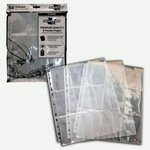 9-Pocket Pages: Clear - Top Loading (50 pcs)