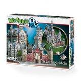 Neuschwanstein Castle - Wrebbit 3D Puzzle (890)