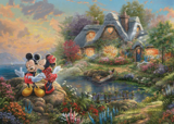 Mickey and Minnie Sweetheart Cove - Puzzel (1000)
