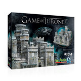 Game of Thrones: Winterfell - Wrebbit 3D Puzzle (910)