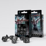 Bloodsucker Dice Set Black & Silver (7)