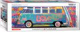Samba Pa'ti, Love Bus - Panorama Puzzel (1000)