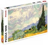 Wheat Field with Cypresses, Van Gogh - Puzzel (1000)