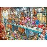 Wasgij Mystery Puzzel (#21): Leven in de brouwerij! (1000)