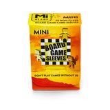 Board Game Sleeves (Non-Glare): Mini (41x63mm) - 50