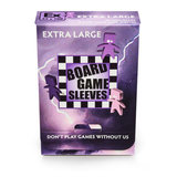 Board Game Sleeves (Non-Glare): Extra Large (65x100mm) - 50 stuks_
