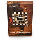 Board Game Sleeves (Non-Glare): Oversize (79x120mm) - 50 stuks_