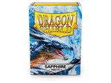 Dragon Shield Card Sleeves: Standard Matte Sapphire (63x88mm)