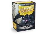 Dragon Shield Card Sleeves: Standard Black (63x88mm)