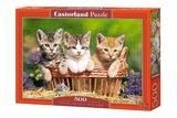 Three Lovely Kittens - Puzzel (500)