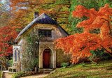 Gothic House in Autumn - Puzzel (500)