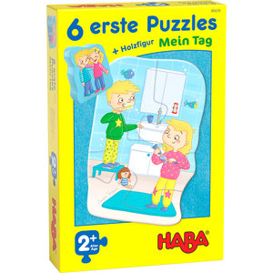 6 Eerste Puzzels: Mijn dag (2+)