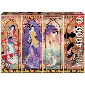 Collage Japan - Puzzel (4000)