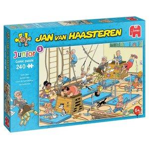 Apenkooien - Jan van Haasteren Junior Puzzel (240)