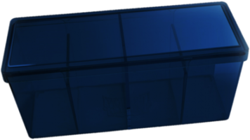 Four Compartment Box (Blue)